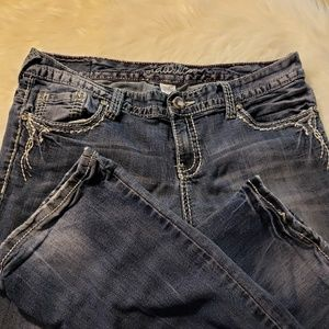Maurice's Jean's. Used in good shape.